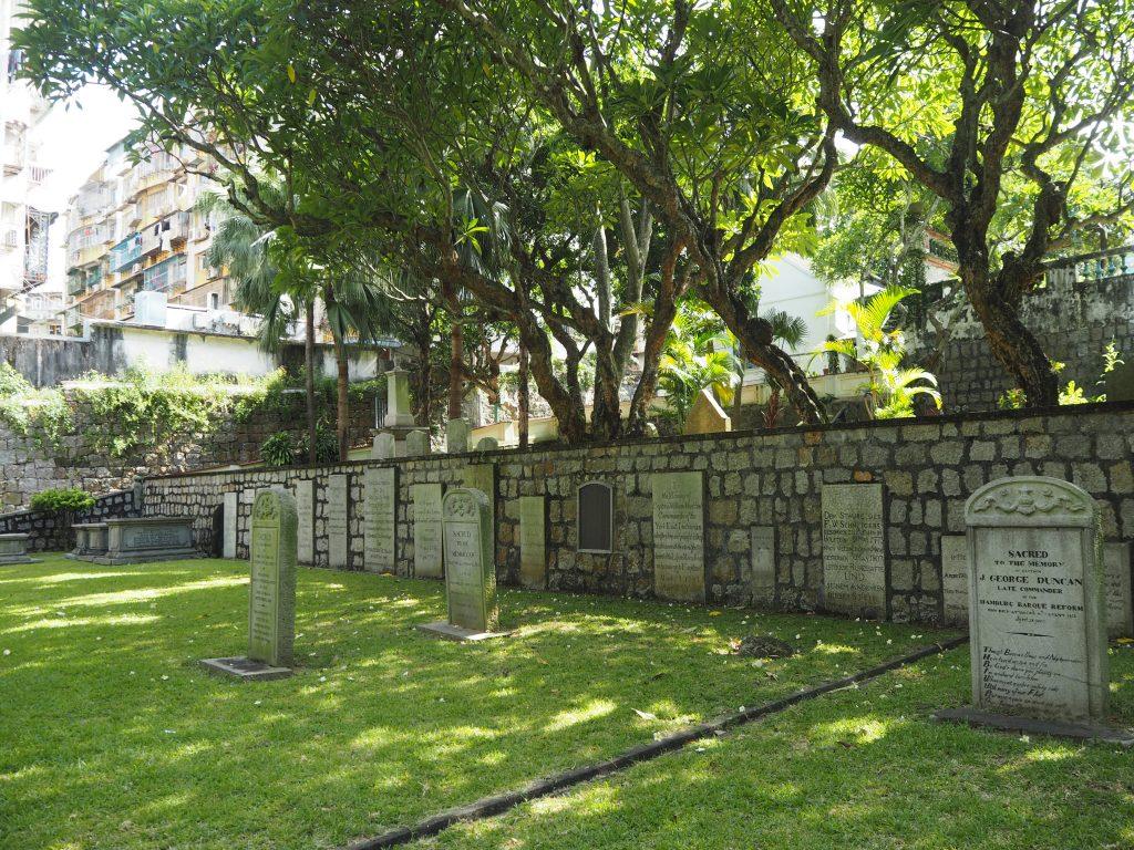 プロテスタント墓地(Protestant Cemetery)