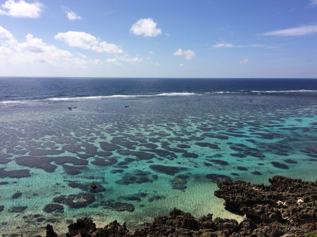 展望台から東シナ海を望む
