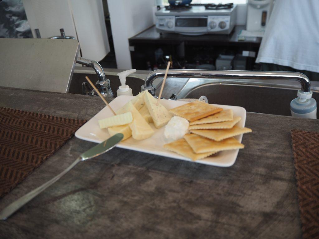 おつまみのチーズ