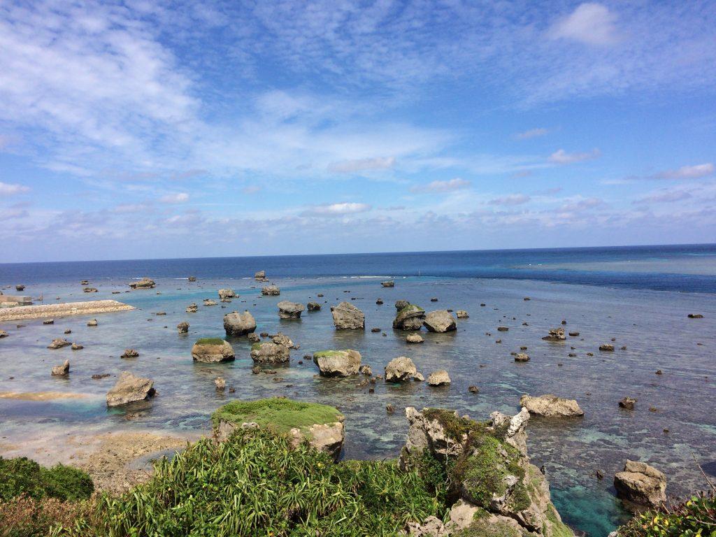東平安名崎から見る景色