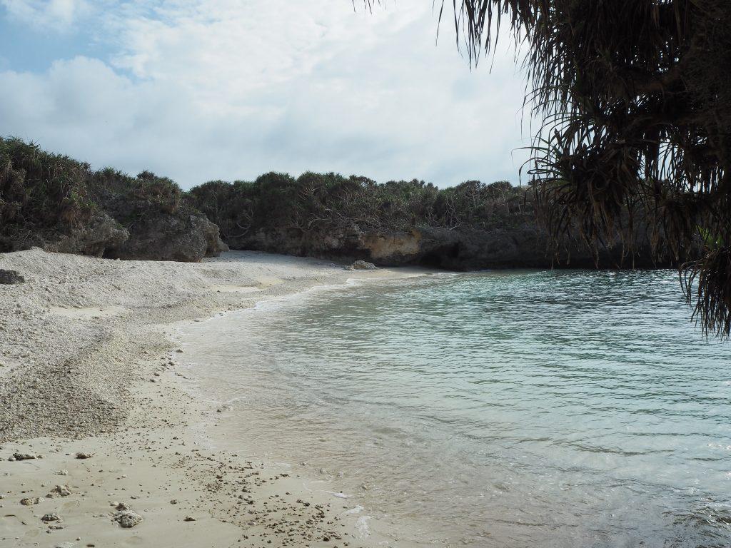 プライベート感たっぷりのビーチがある