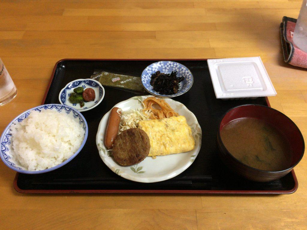 「COCOハウス」の朝食