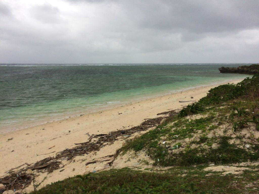 ふるさと海浜公園のビーチ