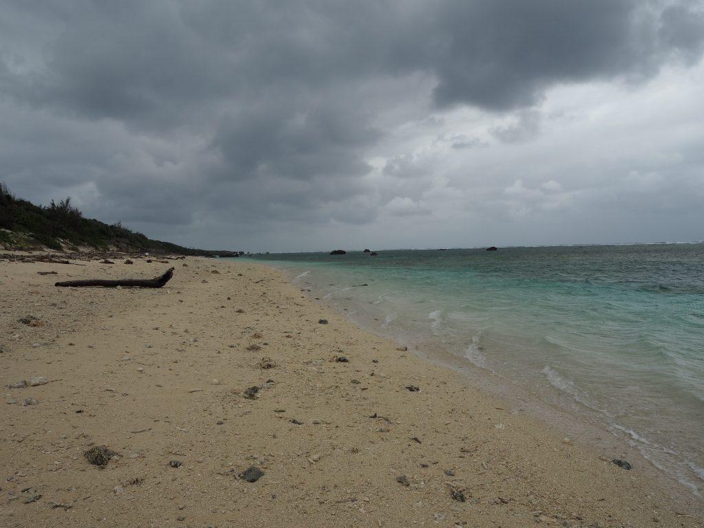 ふる里海浜公園のビーチ