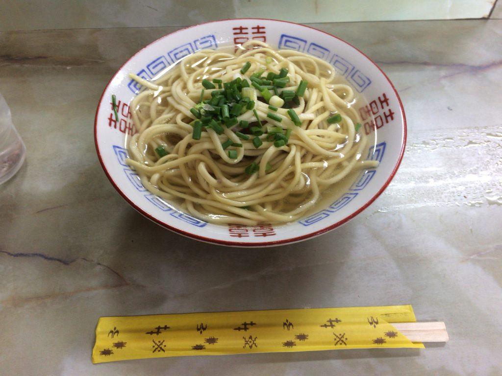 菊栄食堂のそば