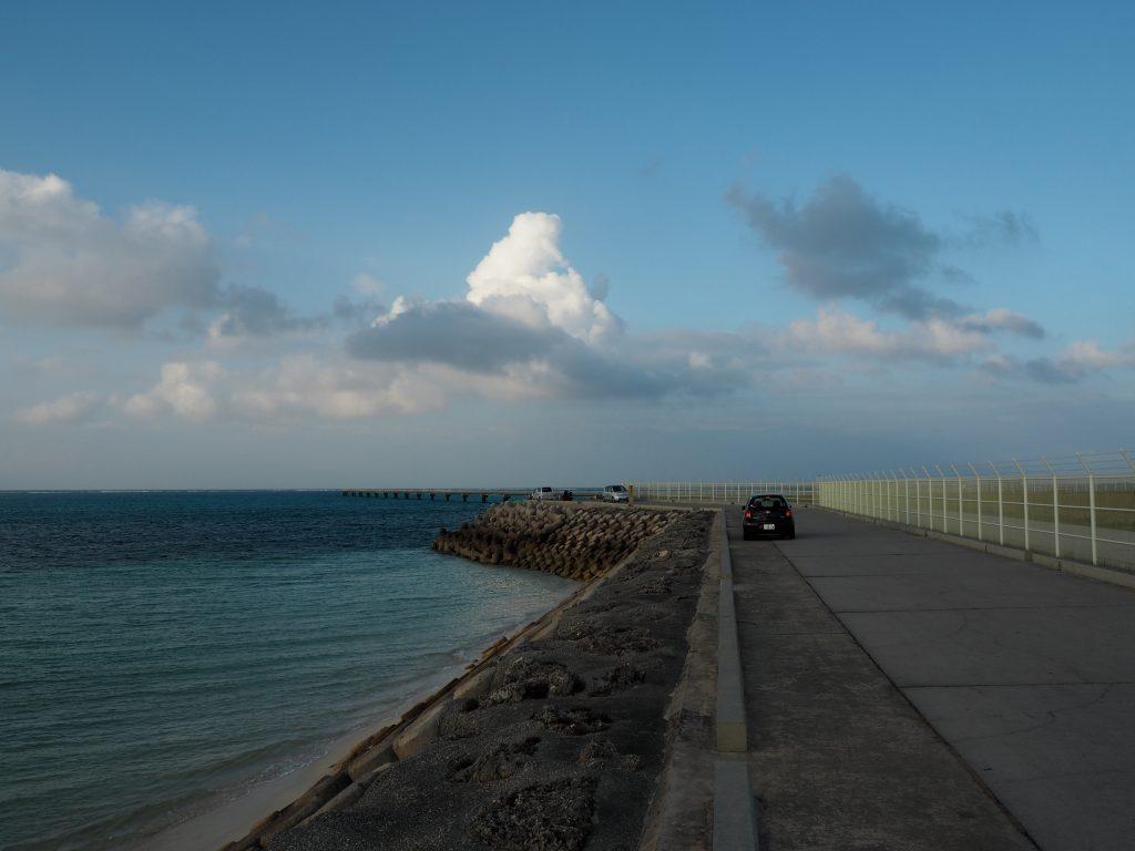 下地島空港の外周道路