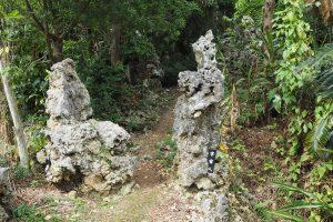 「腰掛岩」と「宇宙人」
