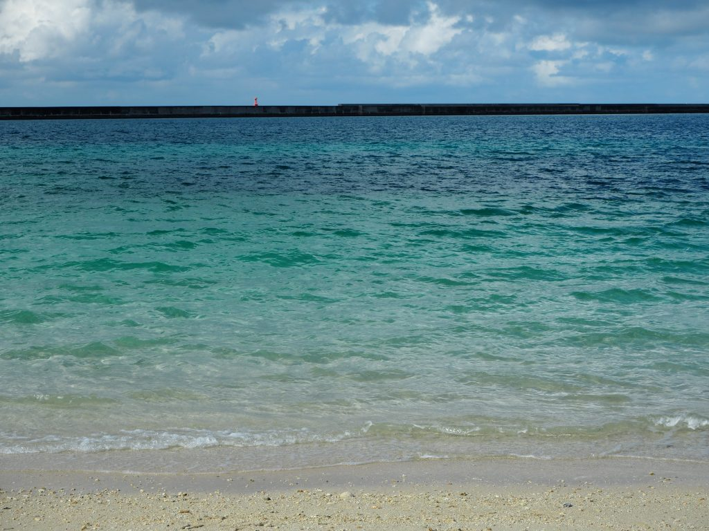 やはり宮古の海は綺麗である
