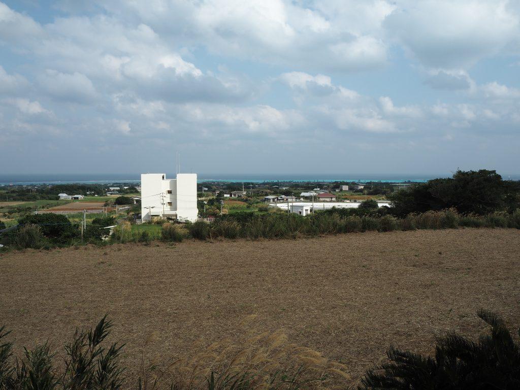 舵引き丘からの眺め