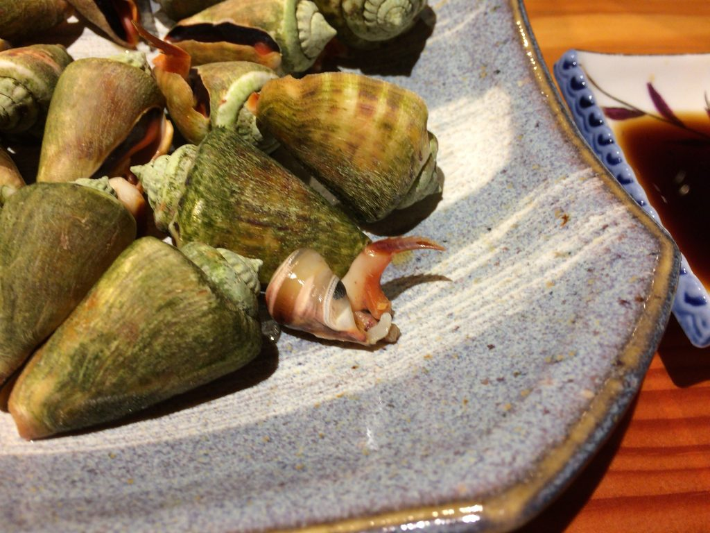 マガキ貝の身