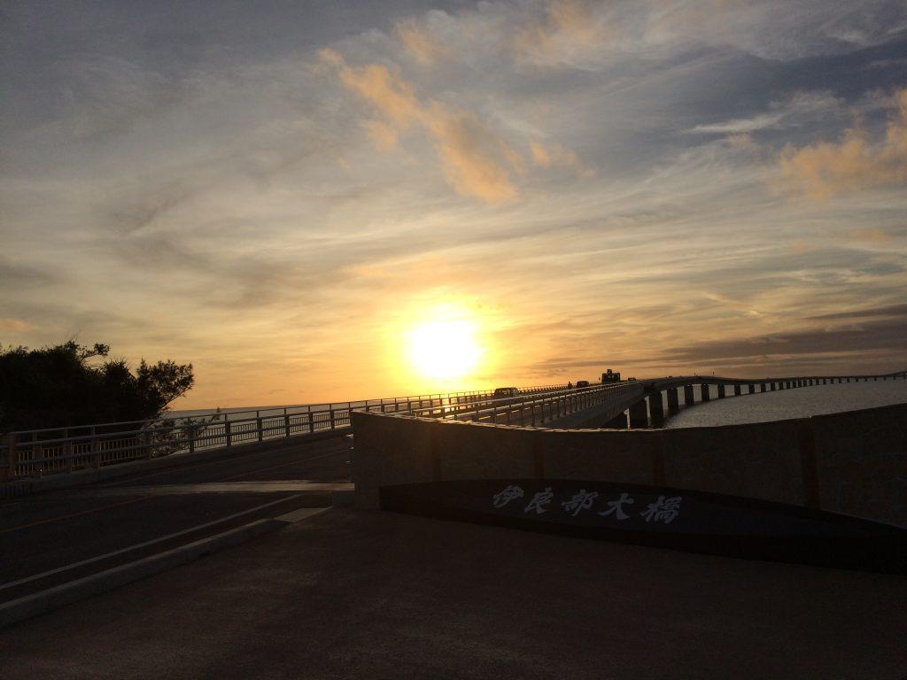 伊良部大橋入口(宮古島側)