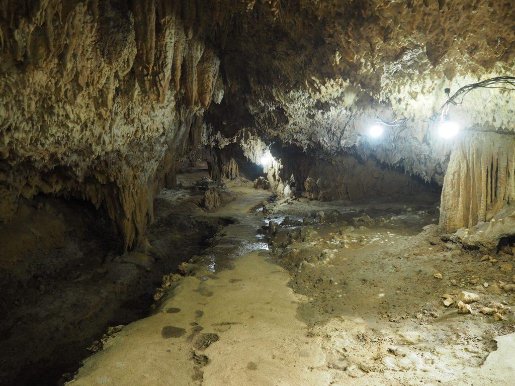 赤崎鍾乳洞の内部