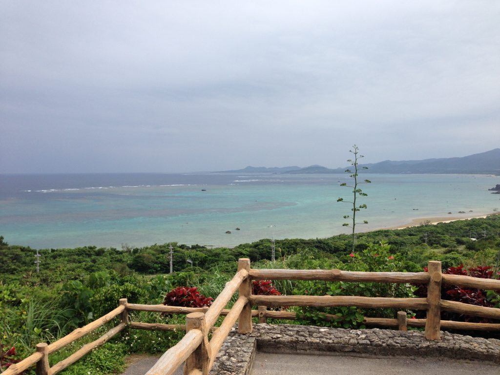 玉取崎展望台からの景色