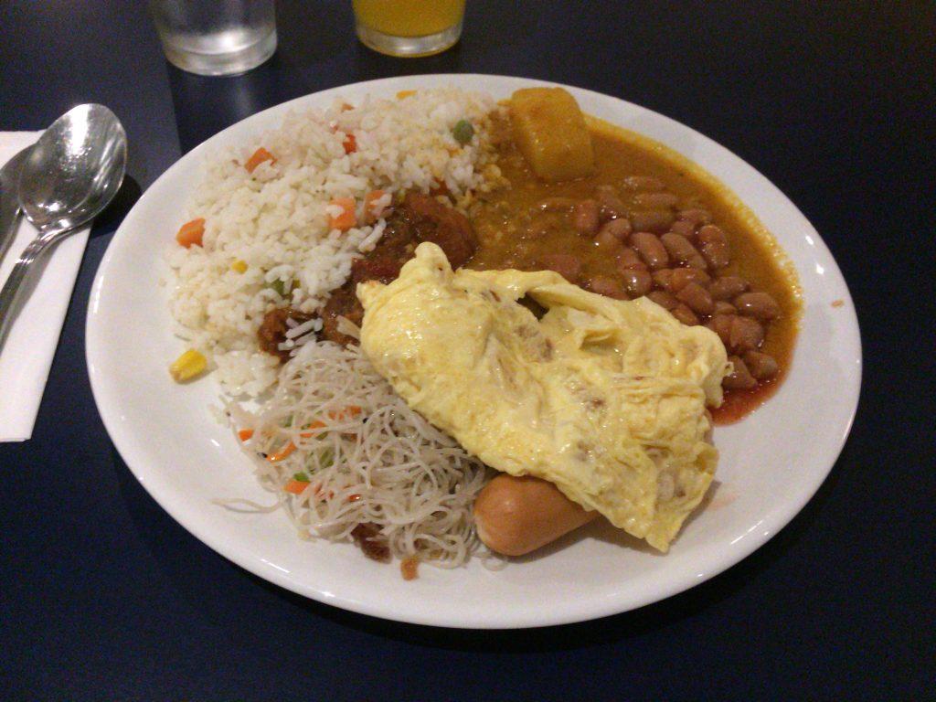 「チューン ホテル KLIA2」の朝食(ビュッフェ)
