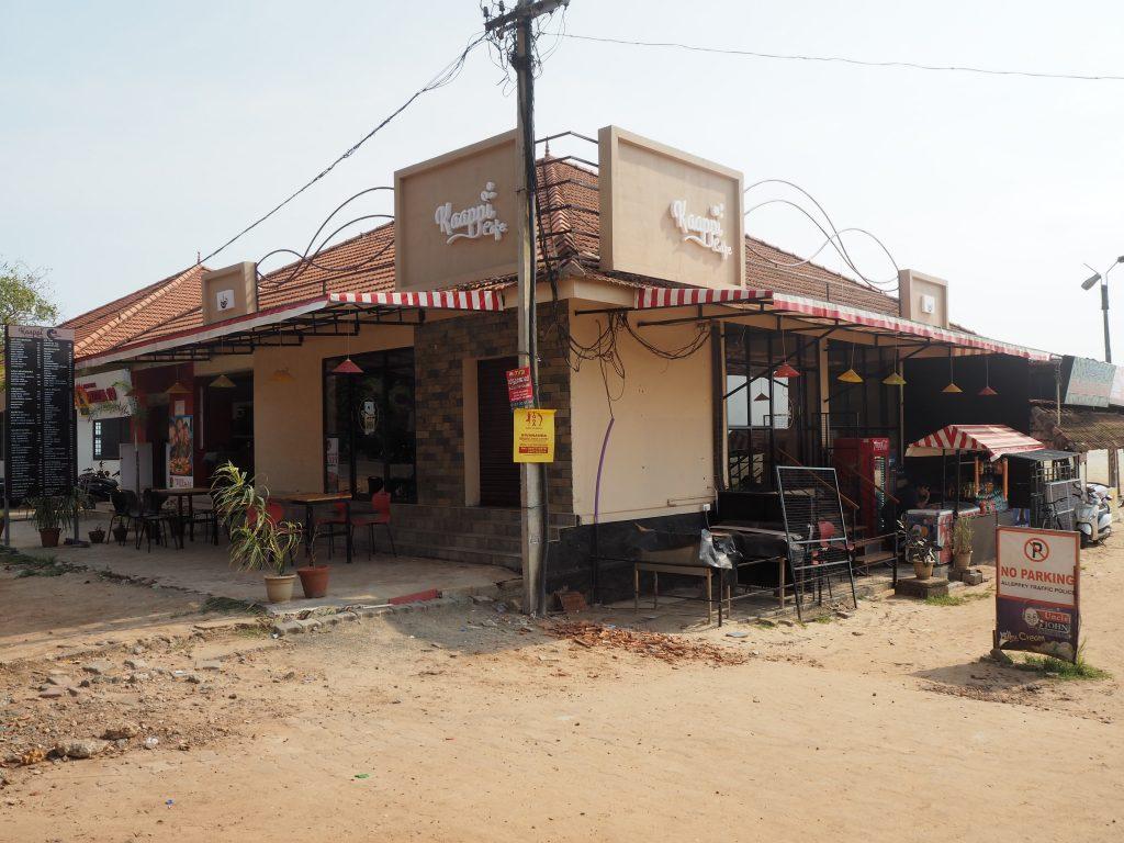 アレッピービーチの南側にあるカフェ