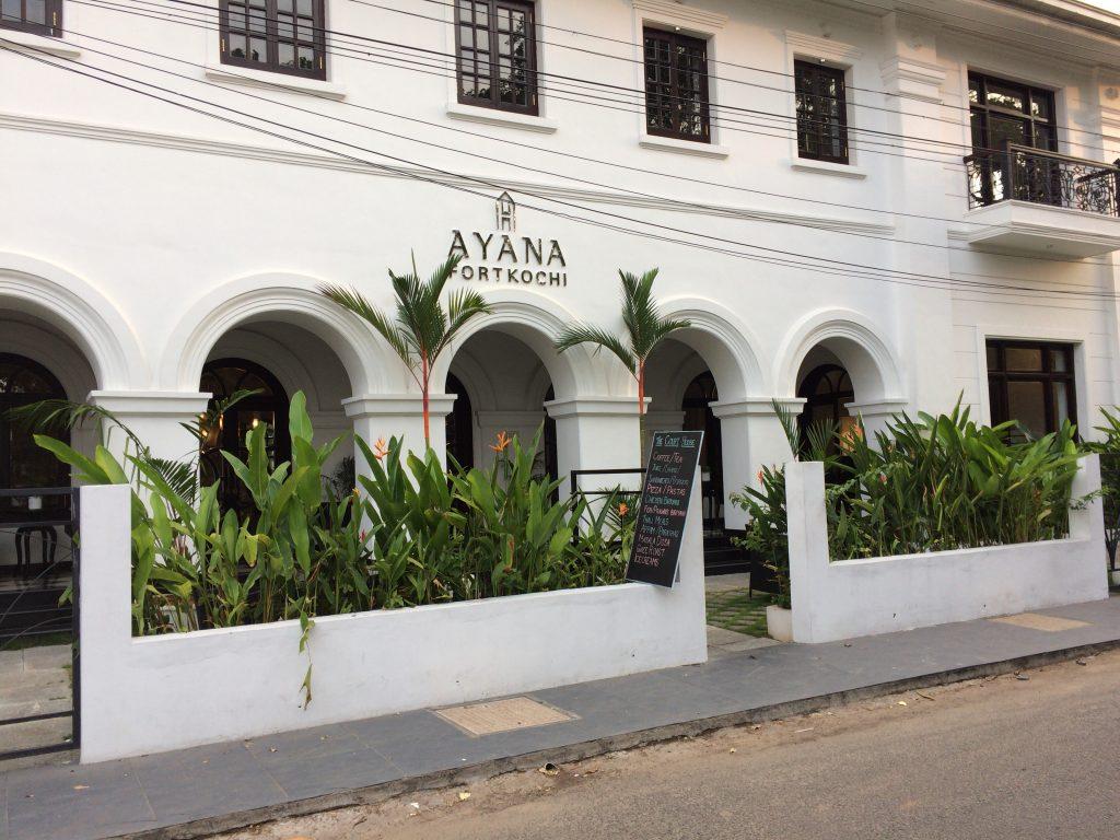 「Ayana Fort Kochi」のレストラン