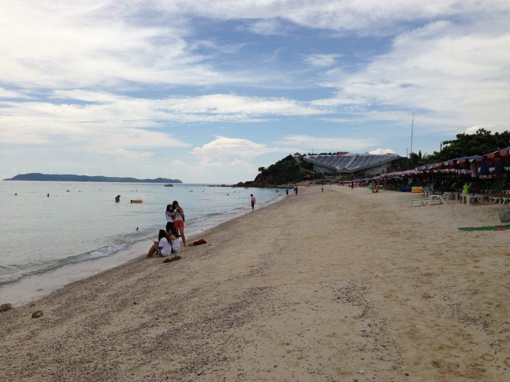 ラン島のビーチ