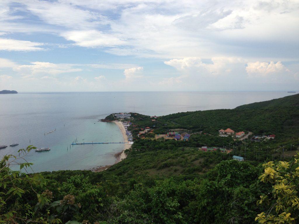 ラン島の風景