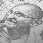 インドの紙幣(ガンジー)
