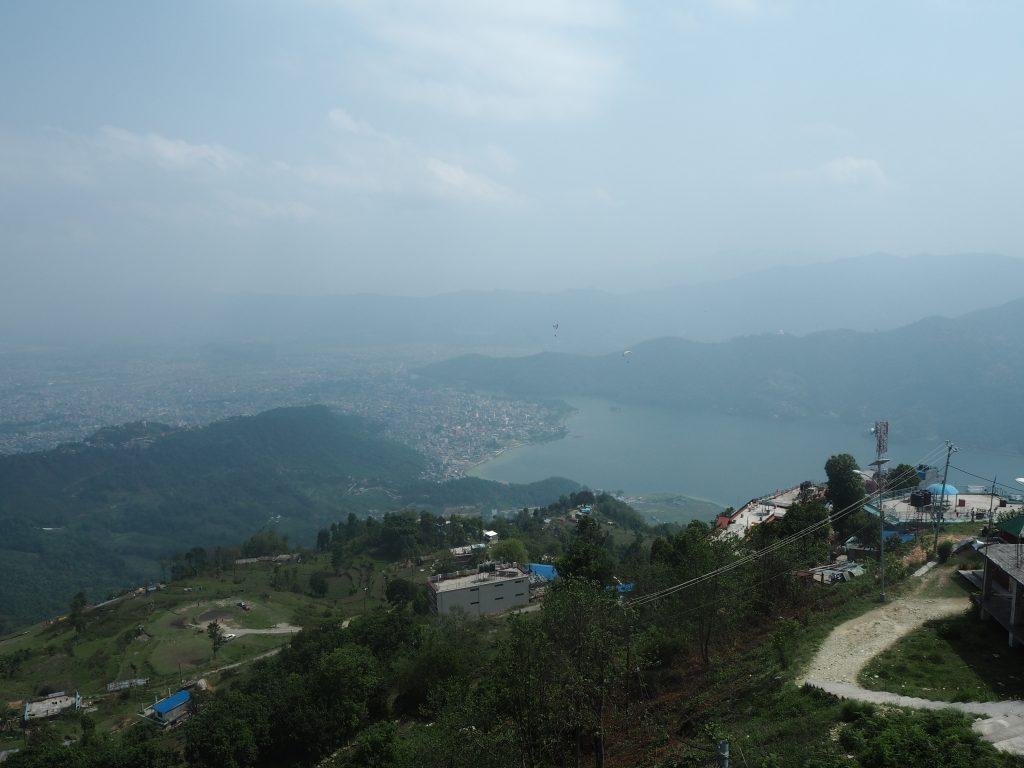 展望台からの景色(レイクサイド方面)