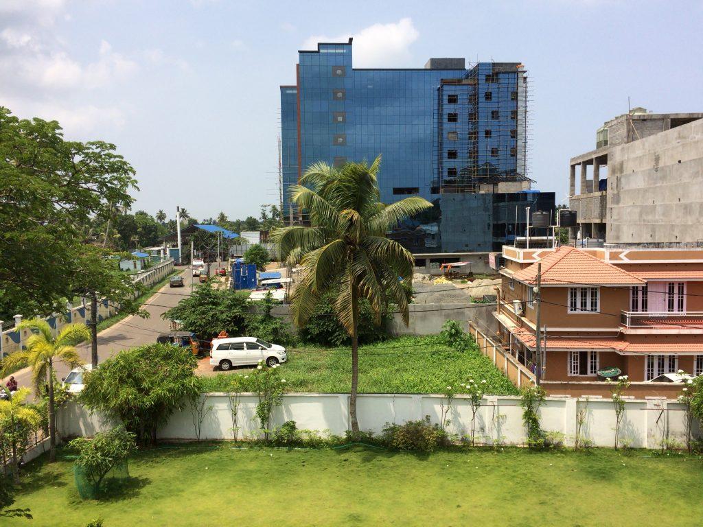 ホテルから見る風景