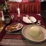 バターチキンマサラとネパールビールのエベレスト