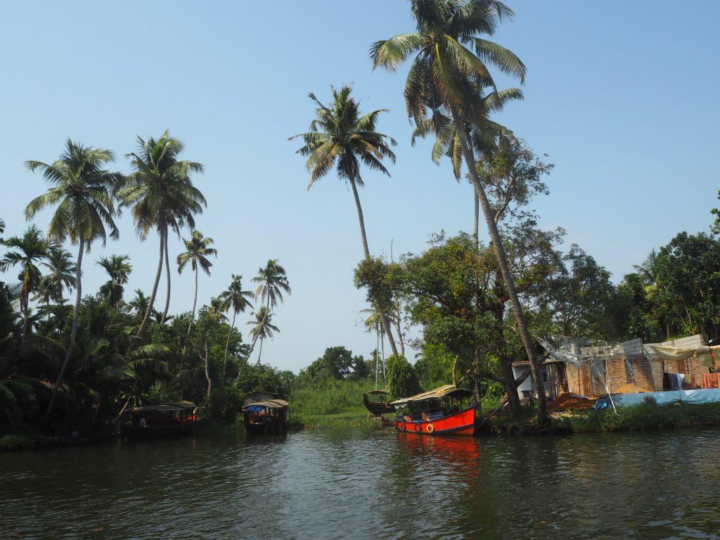 ボートから眺める風景