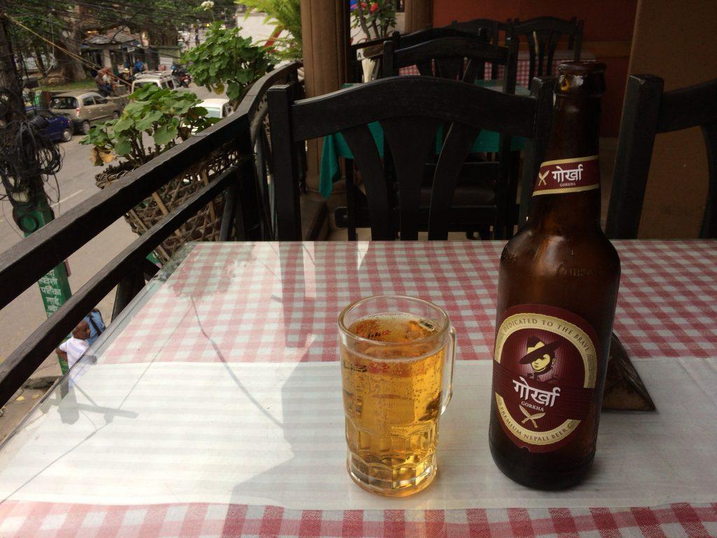 ゴルカ。お気に入りのネパールビールだ