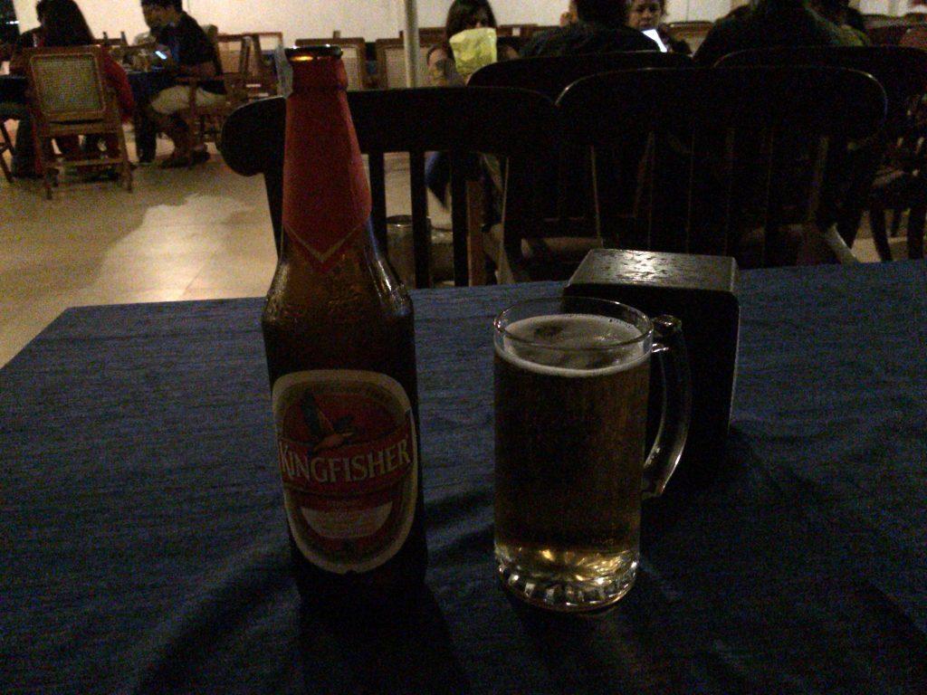 インドビールと言えばキングフィッシャーだ