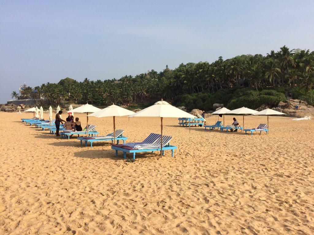 ホテルゲスト用のビーチチェア