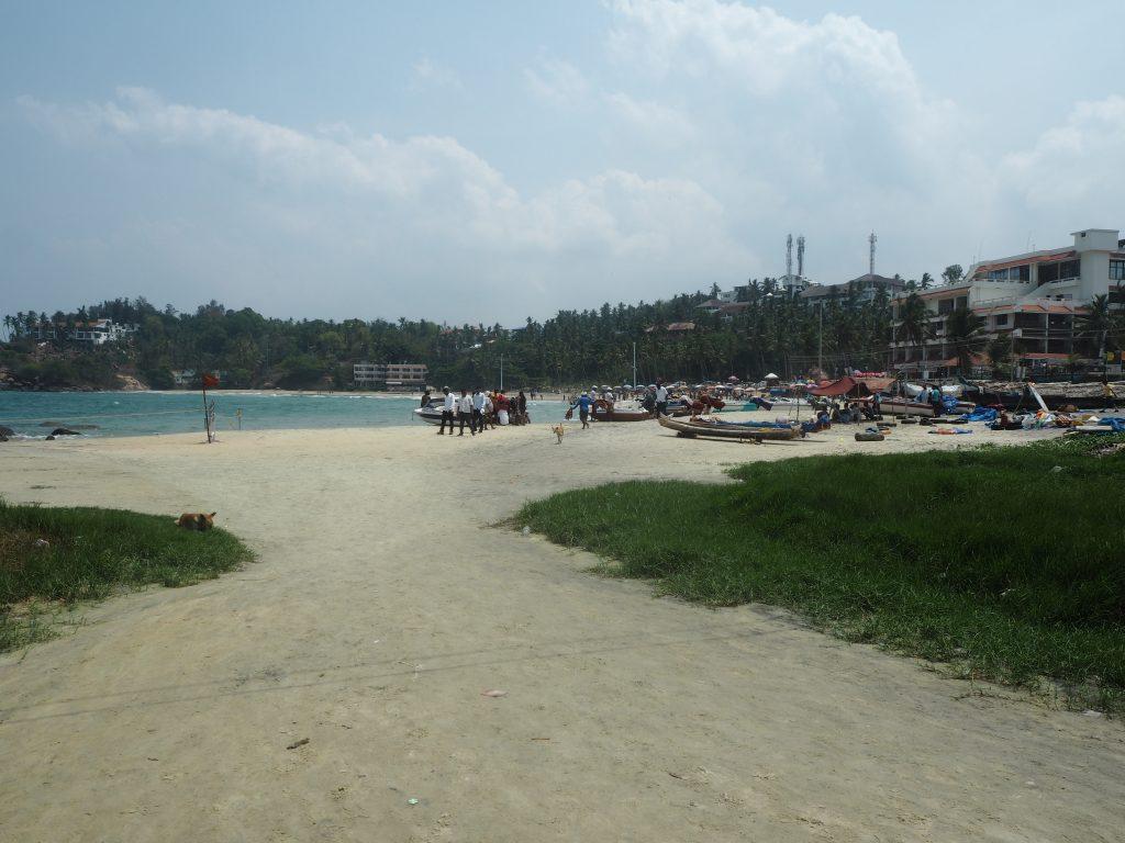 インド人が多いハワービーチ