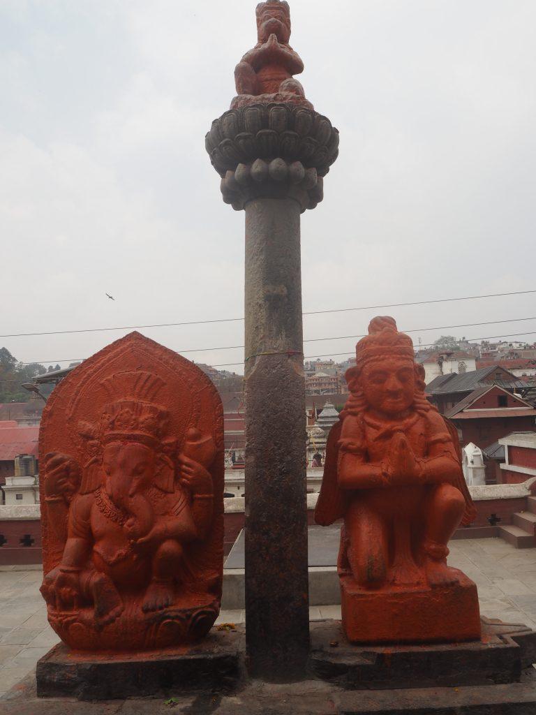 ヒンズー教の神様の像