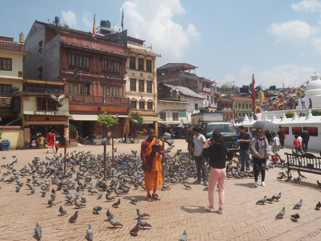 ネパールには仏教徒も多いようだ