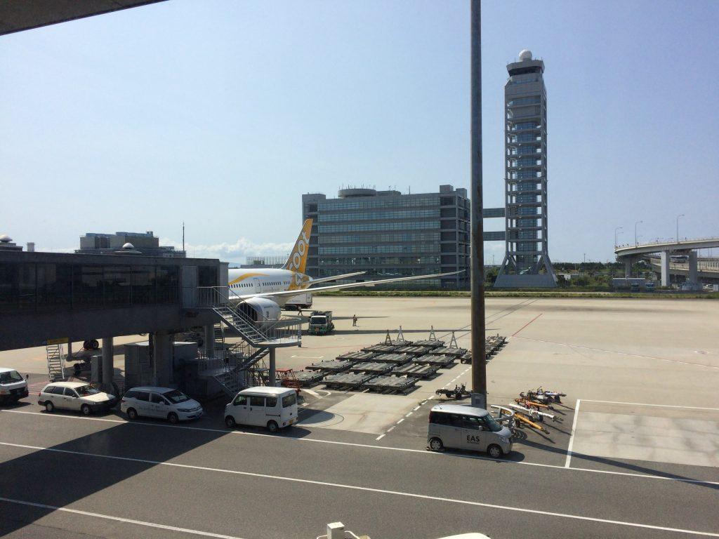 スクートの機体(関空第1ターミナル)