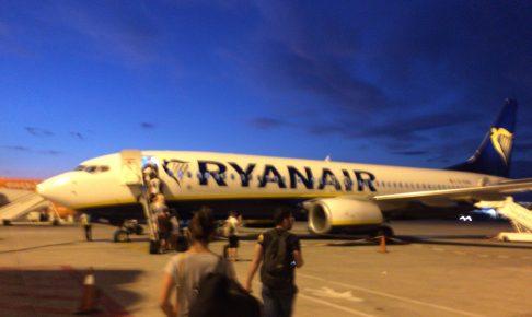 ライアンエアー(Ryanair)の飛行機