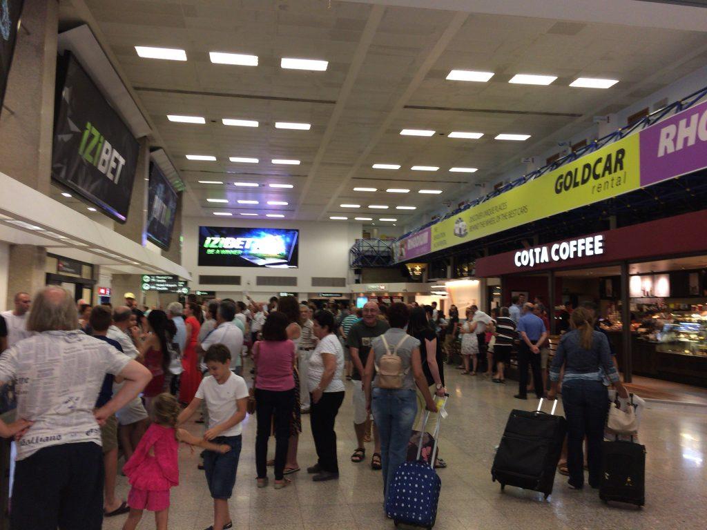マルタ国際空港(ルア空港)