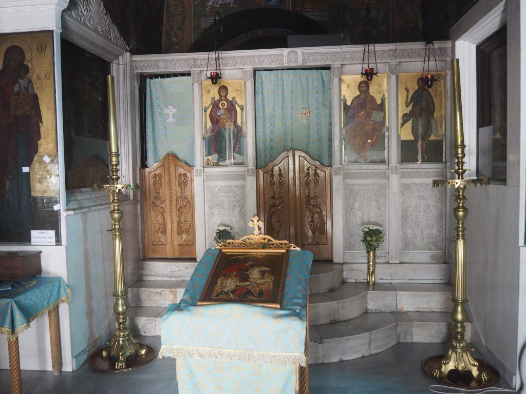 聖ゲオルギオス教会の内部