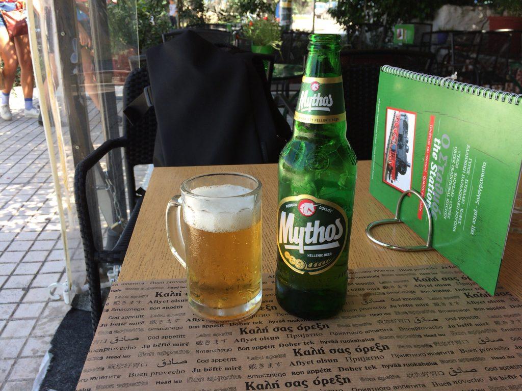 ギリシャビールのミソス(Mythos)