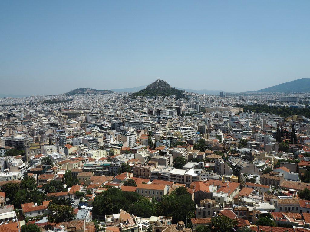 リカヴィトスの丘が見える