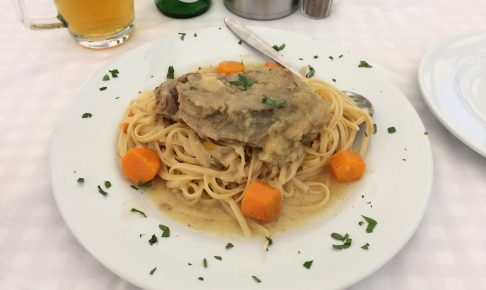 Lamb with Spaghetti