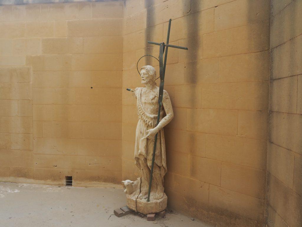 キリストと子羊の像