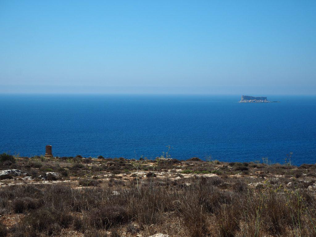 地中海に浮かぶFilfla