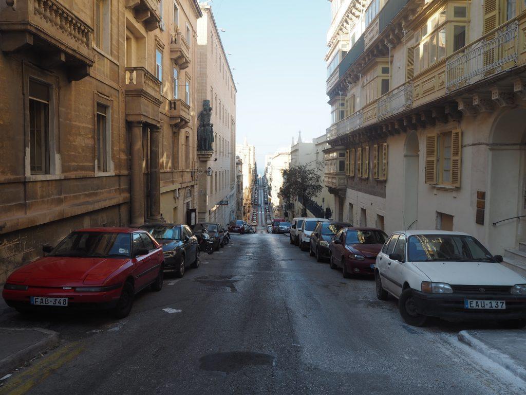 バレッタの街並み