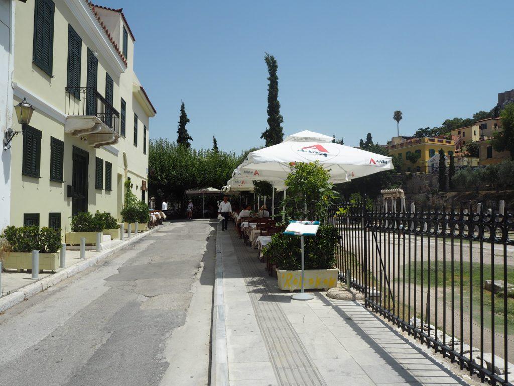 「タベルナ・アクロポリ(Taverna Acropoli)」外観