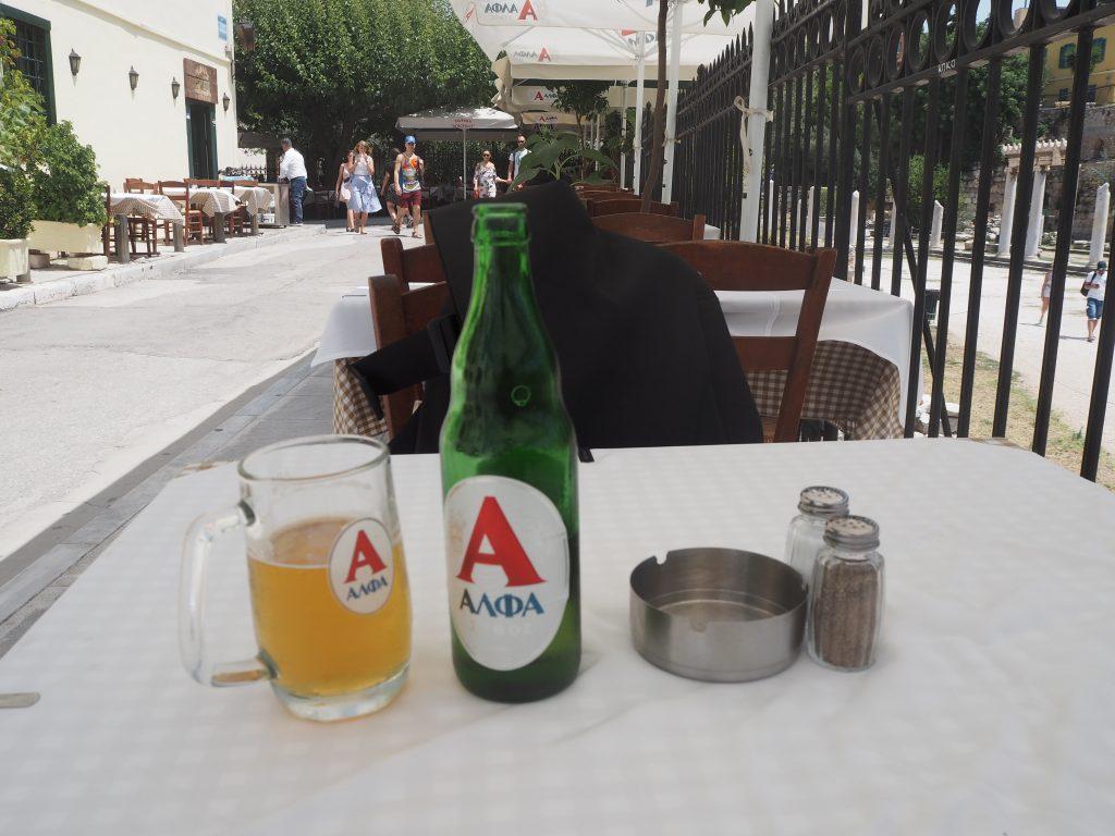 ギリシャビールのアルファ