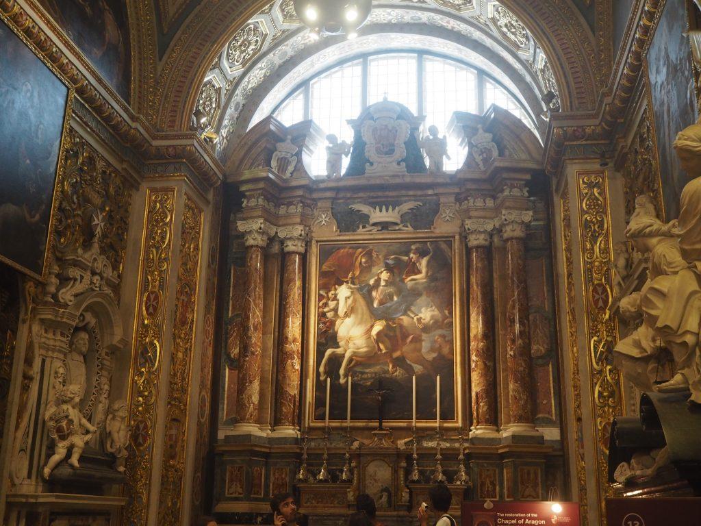 アラゴンの礼拝堂