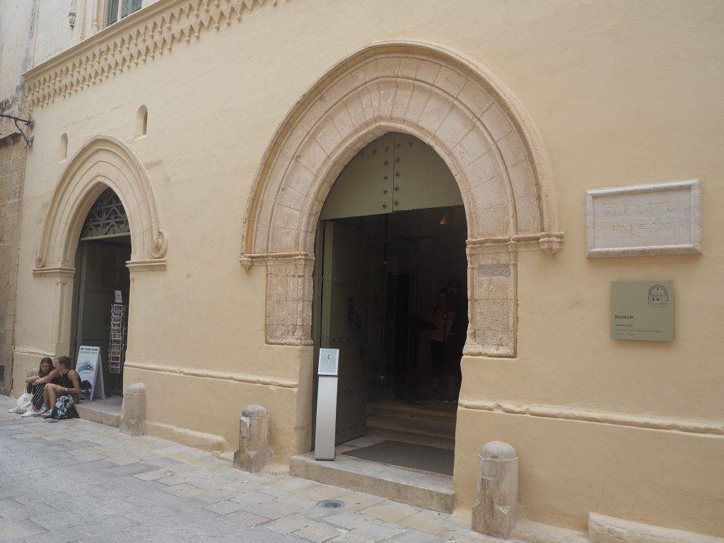 ファルツォン邸。現在は博物館になっている