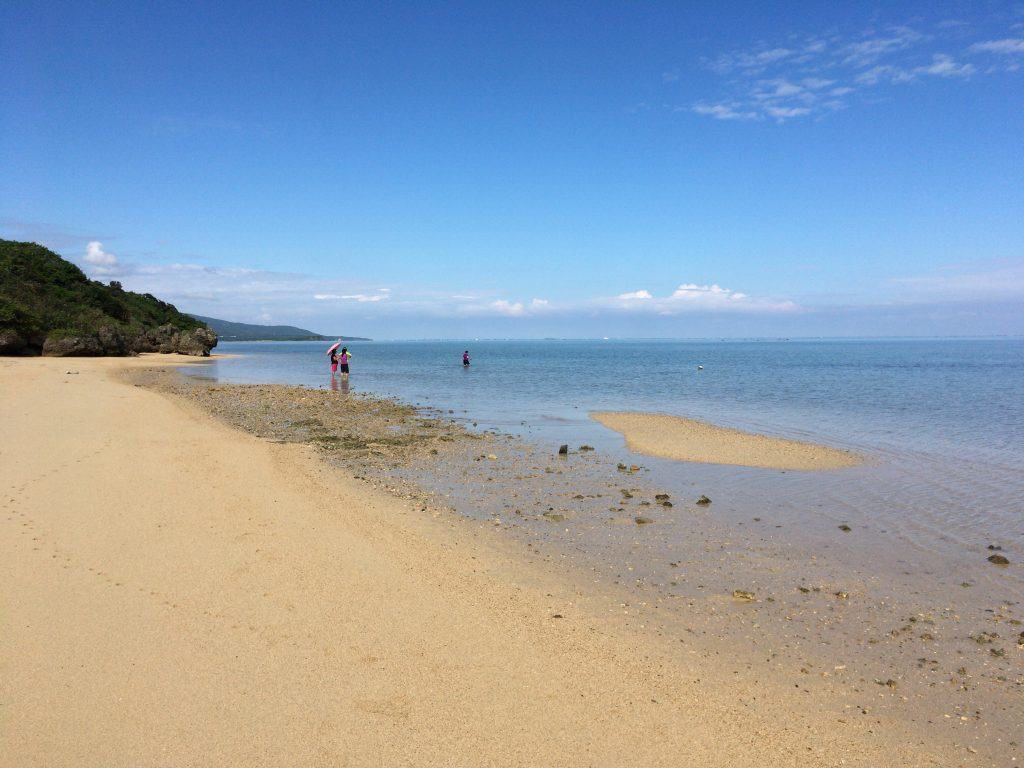 小浜島の北側にあるビーチ