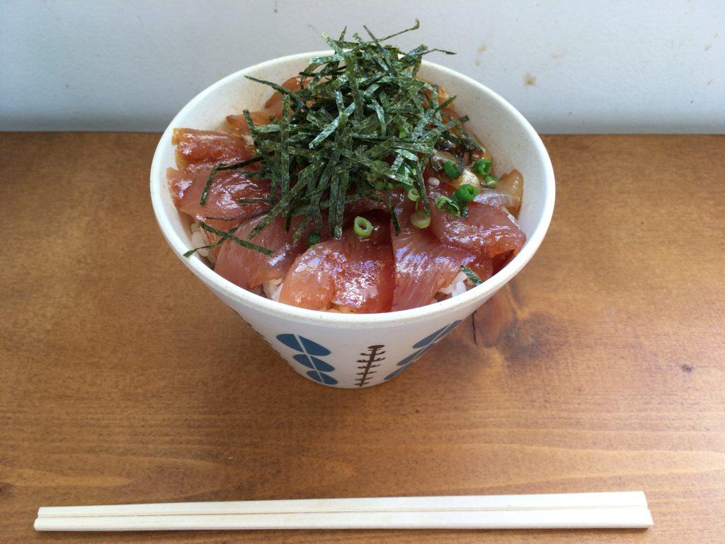 海鮮ごましょうゆ丼