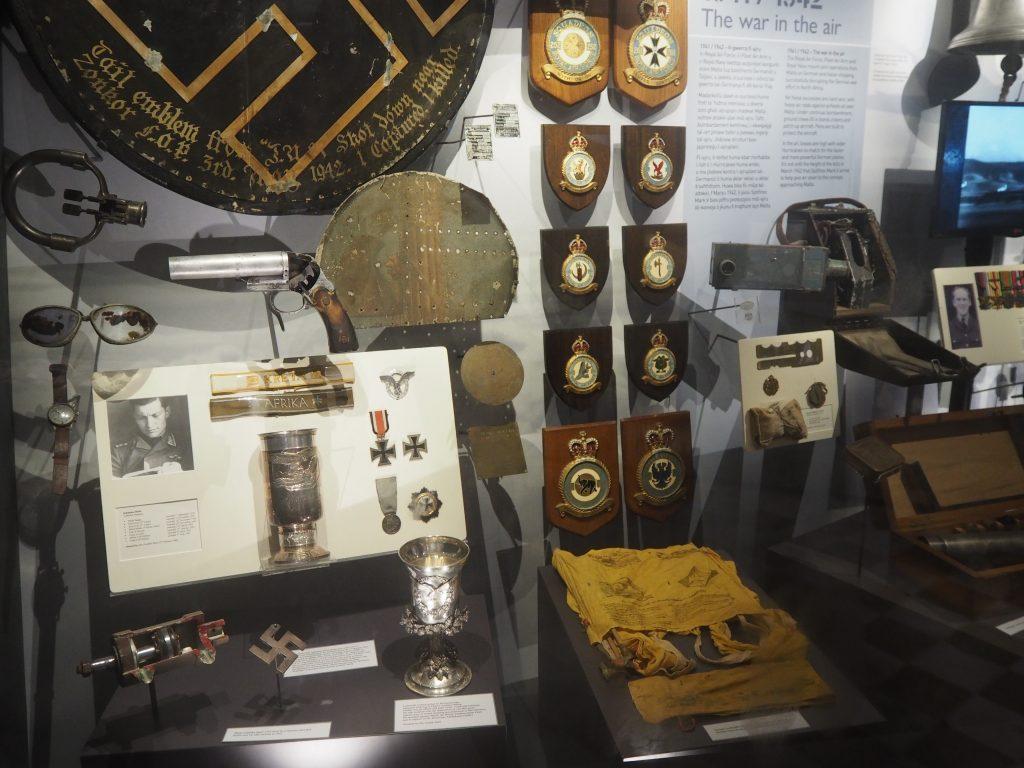 聖エルモ砦内の戦争博物館